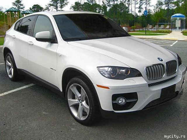 Used 2008 BMW X6 xDrive50i White Tan Fully Loaded Rear ...