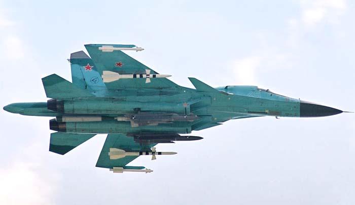 Serijski Su-34 (T-10B-5)