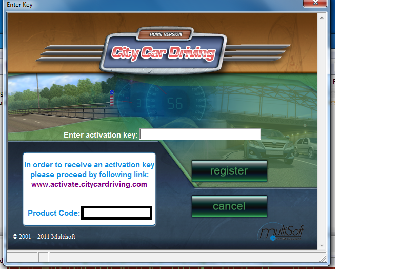 city car driving activation key v1 0